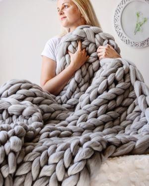Chunky Wool Studios Blanket