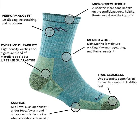 Darn Tough Socks Performance