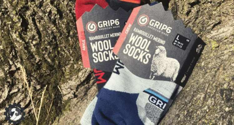 Grip6 Merino wool socks