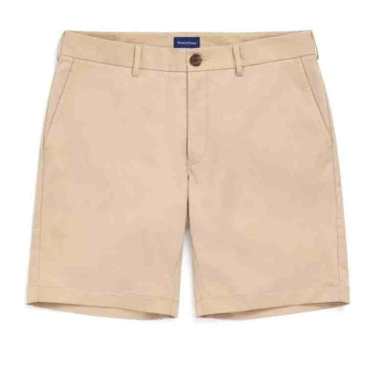 Wool Prince Stretch Chino Shorts