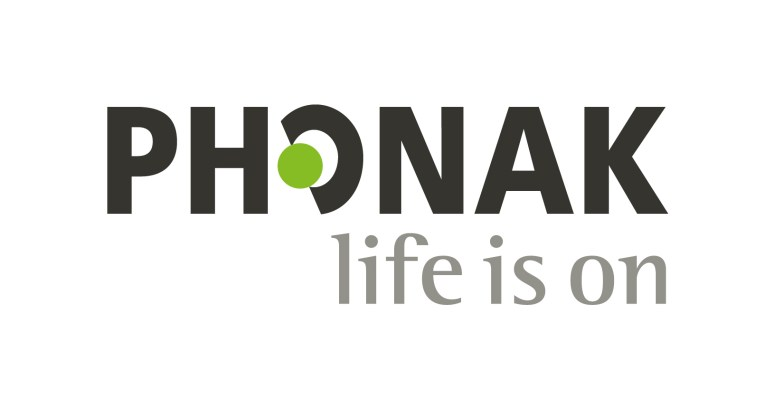 Phonak Logo Text: Life is On