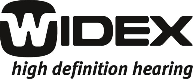 Widex high definition hearing aid logo
