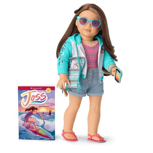 Joss, the surfer American Girl Doll with hearing aids