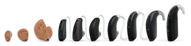 ReSound Key hearing aid styles