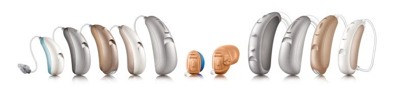 Unitron Tempus hearing aid family