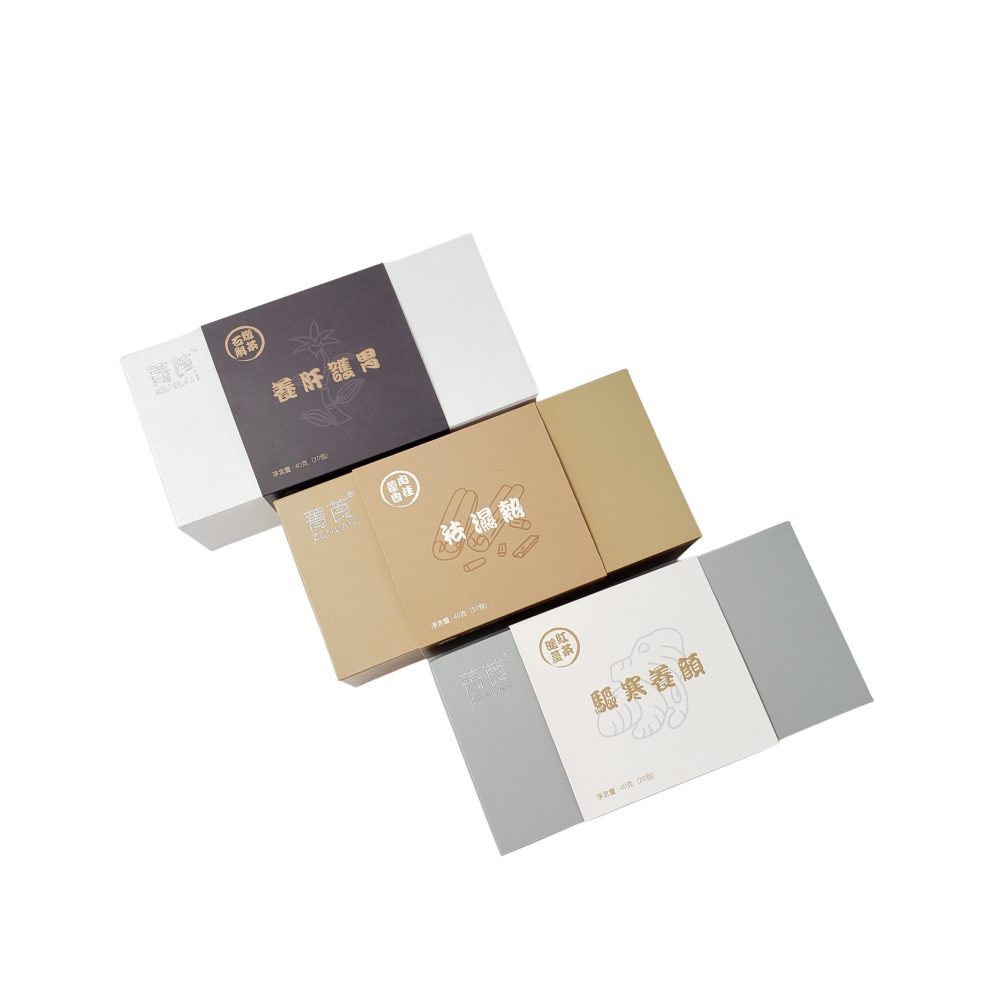 Rigid Hinged Magnetic Box with Paper Sleeve