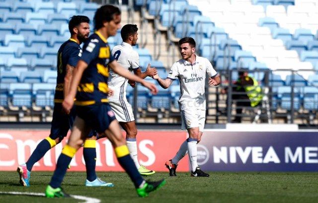 Real Madrid Castilla 1-1 San Sebastián de los Reyes
