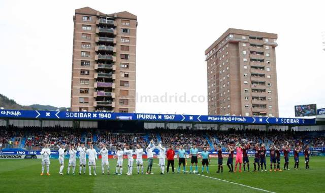 Zona mixta Eibar 1-2 Real Madrid