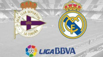 Previa Deportivo-Real Madrid   Jornada 1 Liga Santander