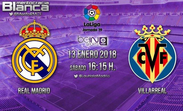 Previa Real Madrid-Villarreal
