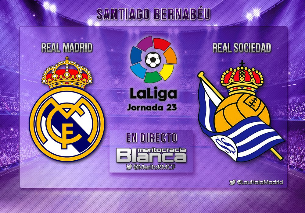 Live Real Madrid-Real Sociedad