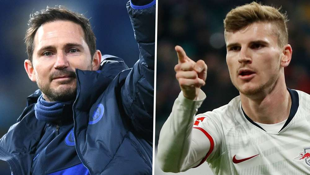 frank Lampard and Timo Werner