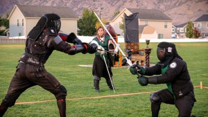 Merit Academy Sword Fighting Slide