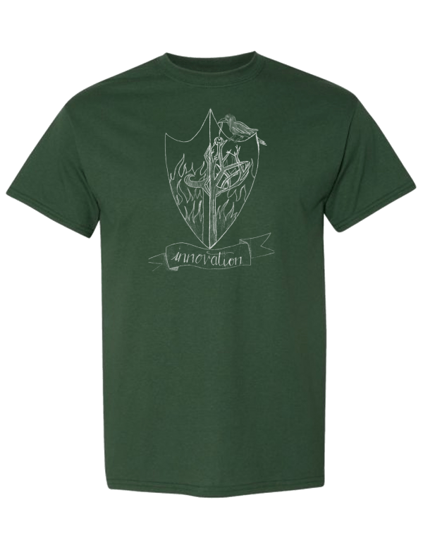 green t-shirt merit academy