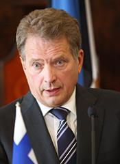 """Finland. President Sauli Niinistö: """"Den här situationen börjar påminna om en folkvandring."""""""