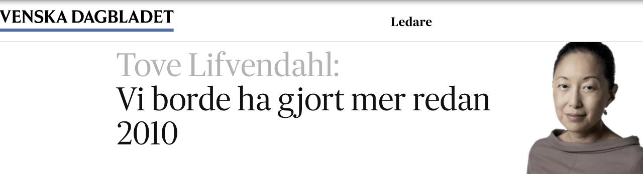Det finns dessutom ett, för staten Sverige och dess myndigheter, okänt antal oidentifierade människor från många länder utanför Europa, som olagligt befinner sig här.