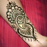 simple mehndi design 2018
