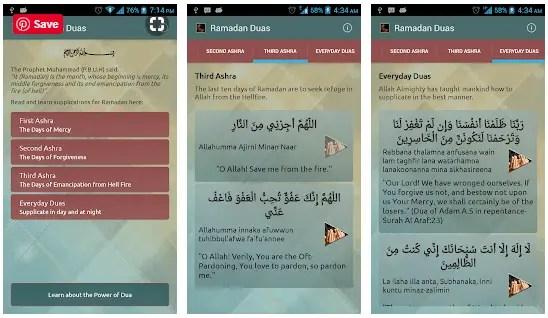 Ramadan Dua app
