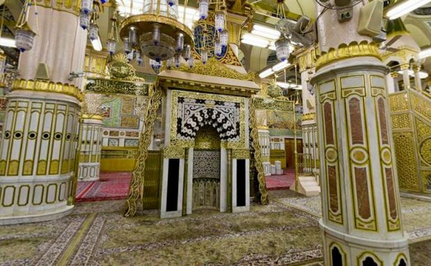 Mehrab-of-Masjid-e-Nabwi