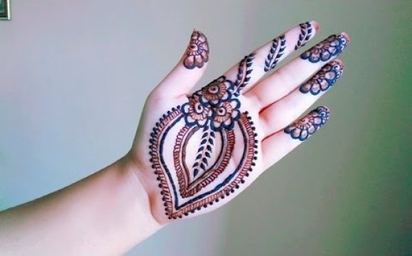 118 latest mehndi designs for hand front
