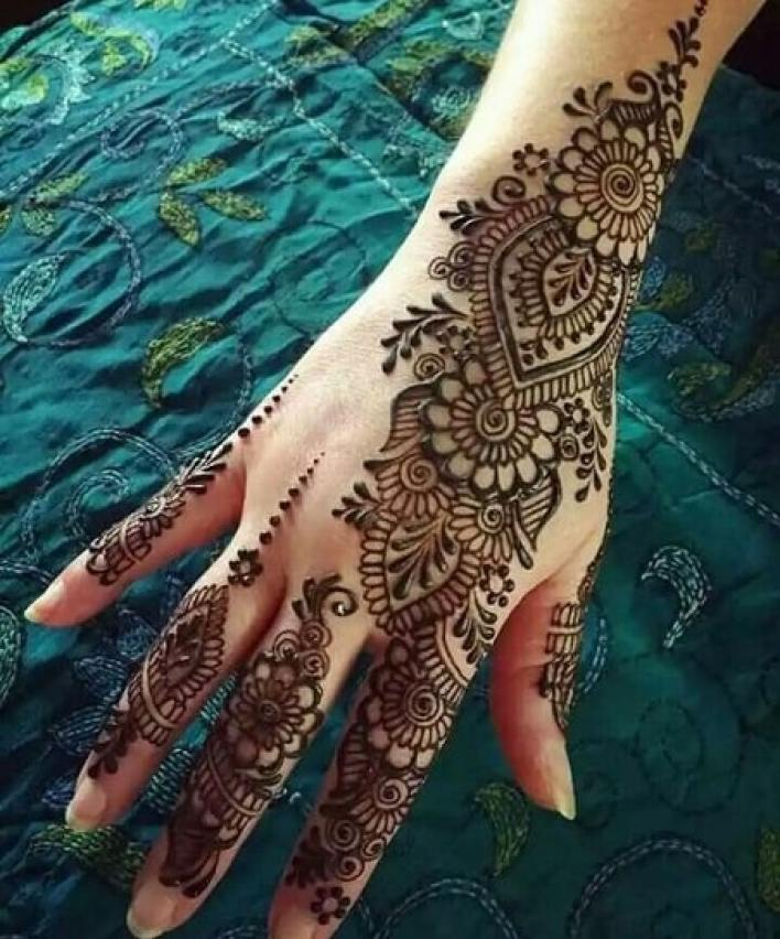 75 New Latest Mehndi Designs 2020 Simple Easy Meri Web