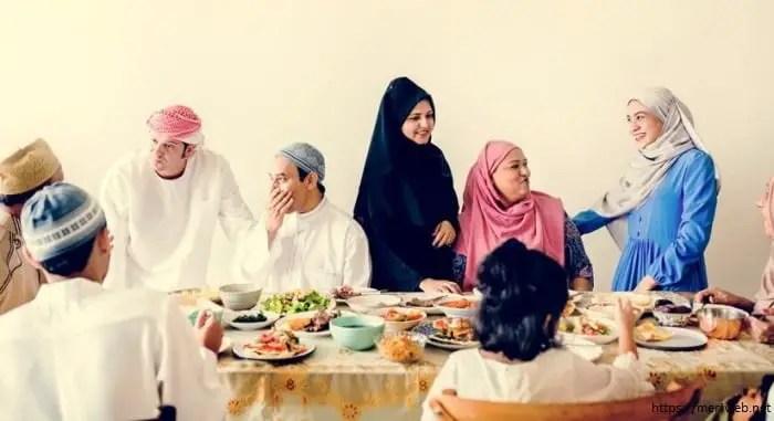 Iftar in ramadan