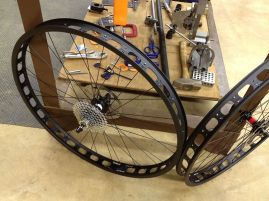 Very nice wheelset, surprisingly light for Surly stuff.