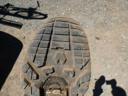 Not so good toe-box tread...
