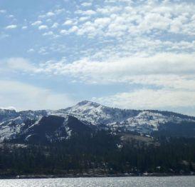 Tell's Peak, I think Crystal Range's northern most peak.