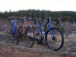 Dirty cross bikes. (Photo by Joe McManus)