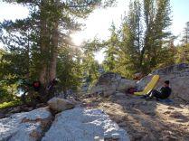 Camp 2, at Star Lake.