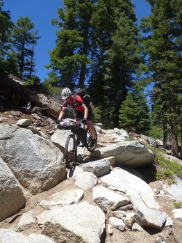 The granite riding here is just amazing