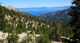 Lake Tahoe from the south side
