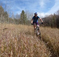 AP on Singletrack Mtn.