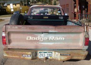 Heyride's truck
