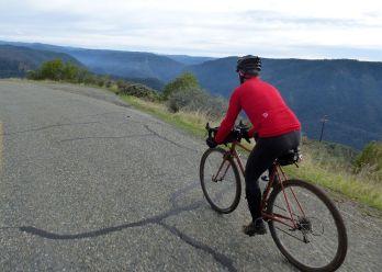Isaac, down Mosquito Ridge Road