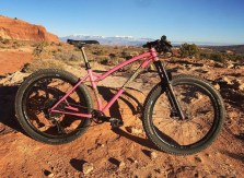 Laura's 27.5plus in Moab