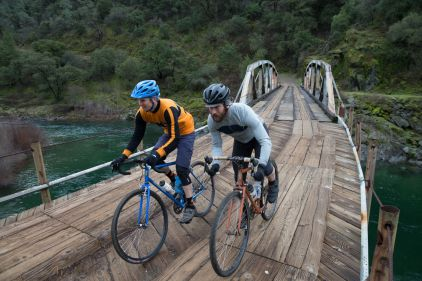 Me and Isaac on the Ponderosa Bridge, Photo by Wil Matthews