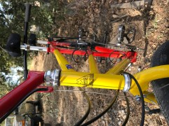 "fillet-brazed Fisher tandem ""Mountain Bike"""