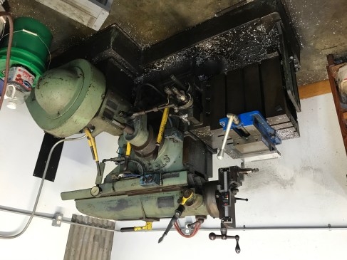 one of the cooler machines in here was the planer