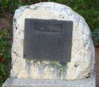 Henness Pass Road plaque