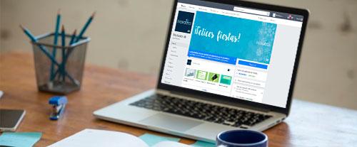 """Descubre Cómo Personalizar Tu FanPage Con La  Plantilla De Facebook """"Salas De Espectáculos"""""""