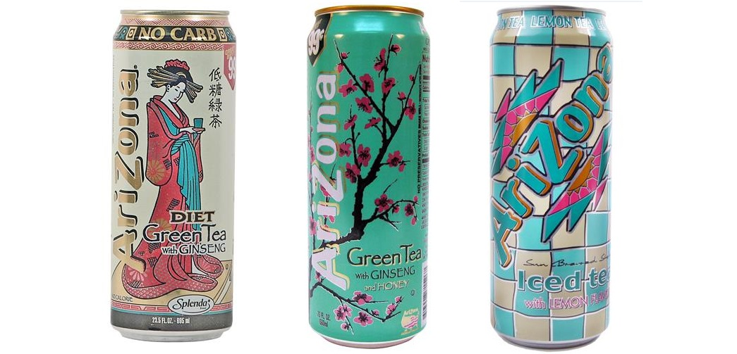 arizona canned drinks beverages