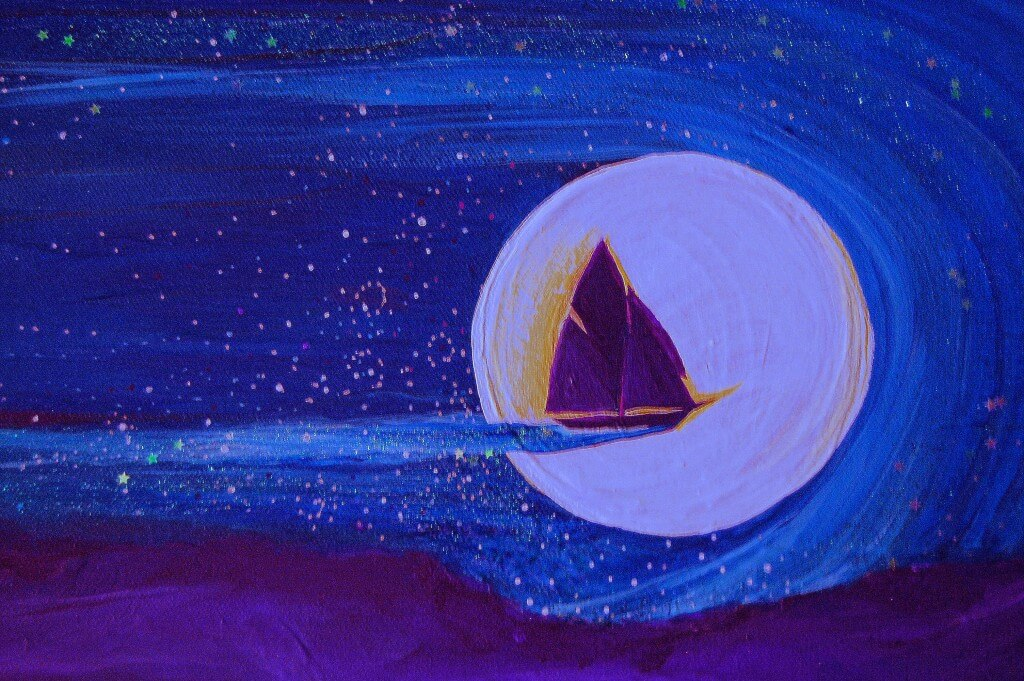 Star Sailing by jrr First Star Art