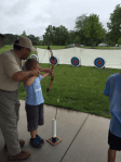 archery at Blackwell forest preserve