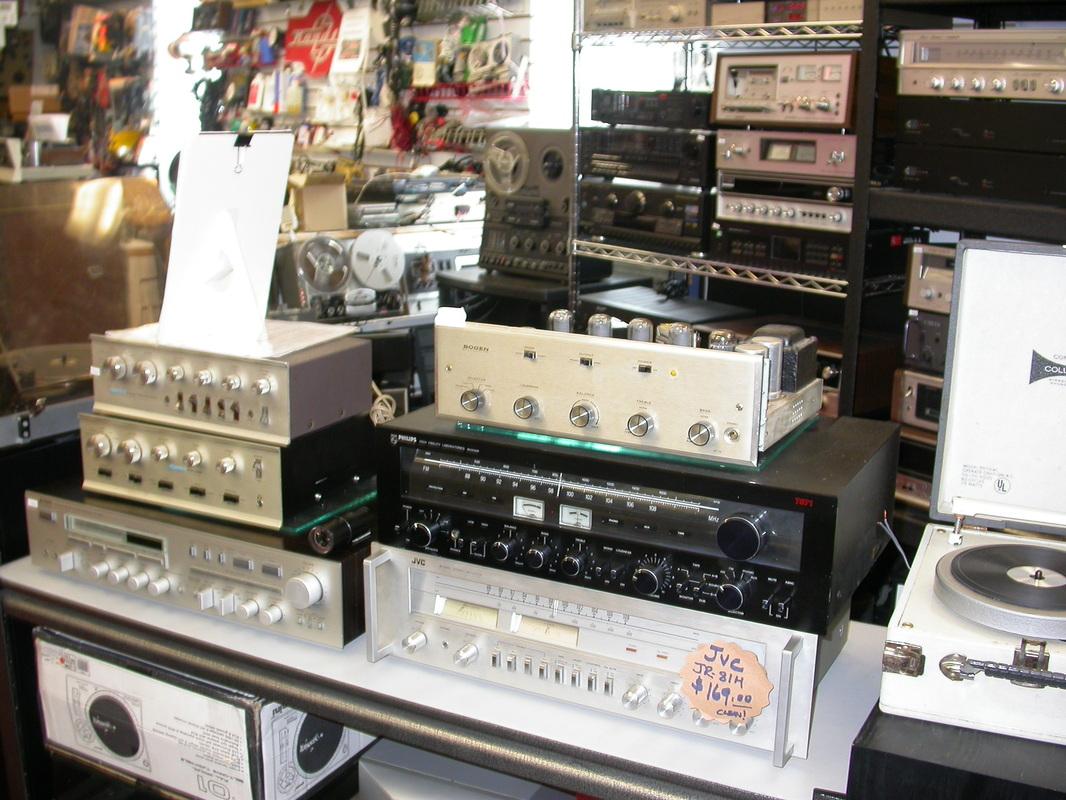 Vintage Stereo Equipment Repair Near Me