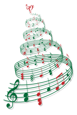 music-transparent-christmas-tree-1