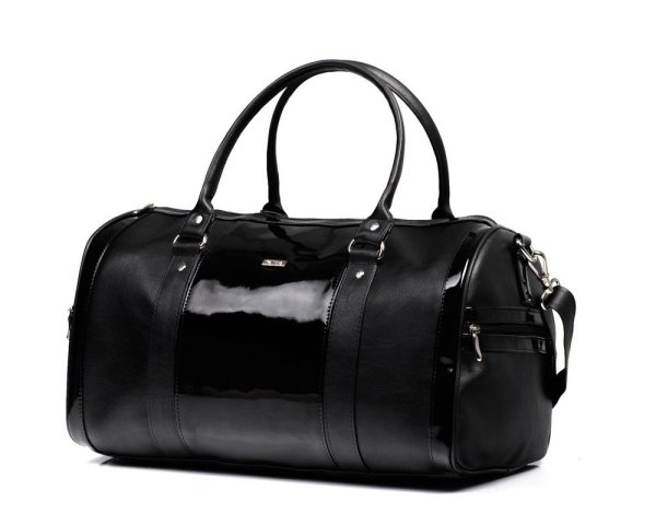 Women' Weekend Bag Nana Black Lacquer - Online
