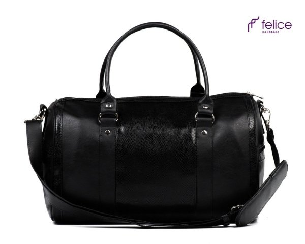 Women' Weekend Bag Nana Black Snake Women