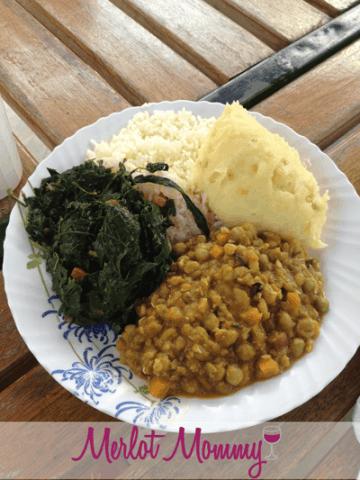 Local cuisine at Diners Grill, Nairobi, Kenya